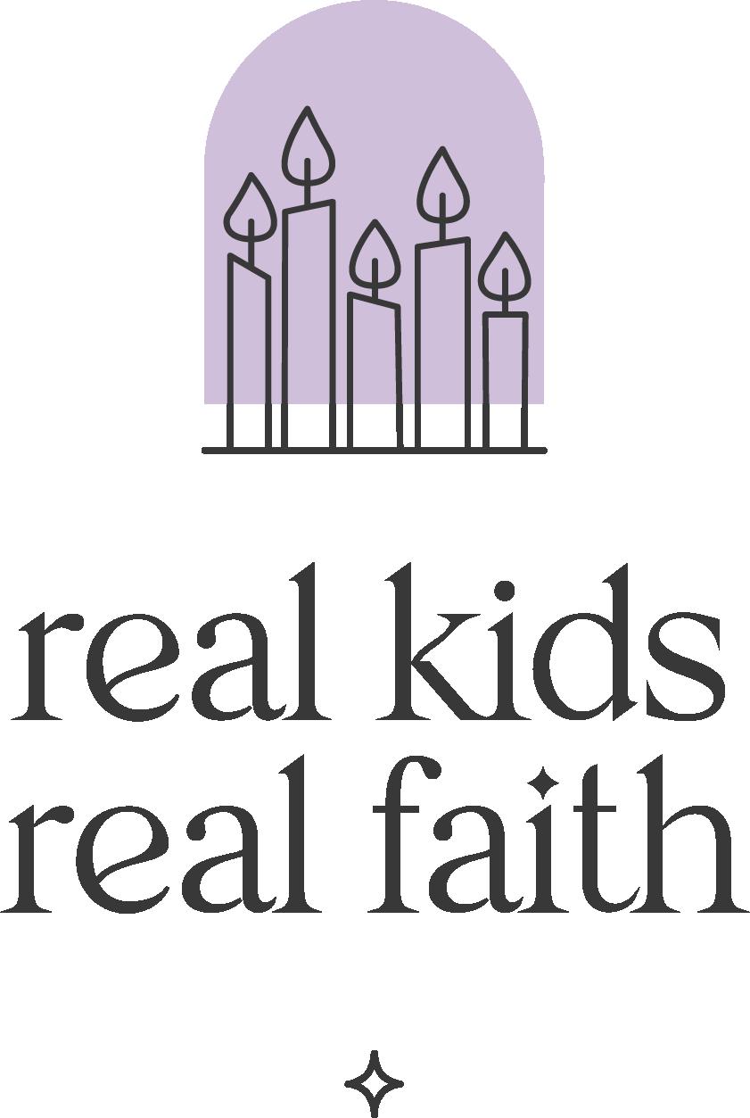 Real Kids Real Faith logo